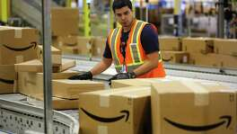 "Amazon is looking to hire full-time and part-time warehouse workers at its ""sortation"" center and Prime Now facility in San Antonio and at its distribution centers in Schertz and San Marcos."