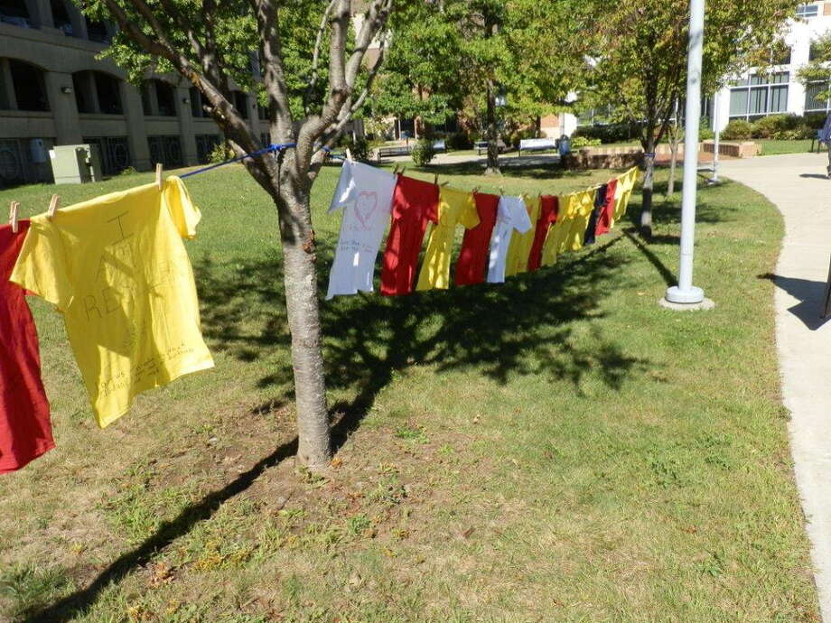 The HCC Clothesline Project Addresses Interpersonal  Violence Photo: Contributed / Contributed