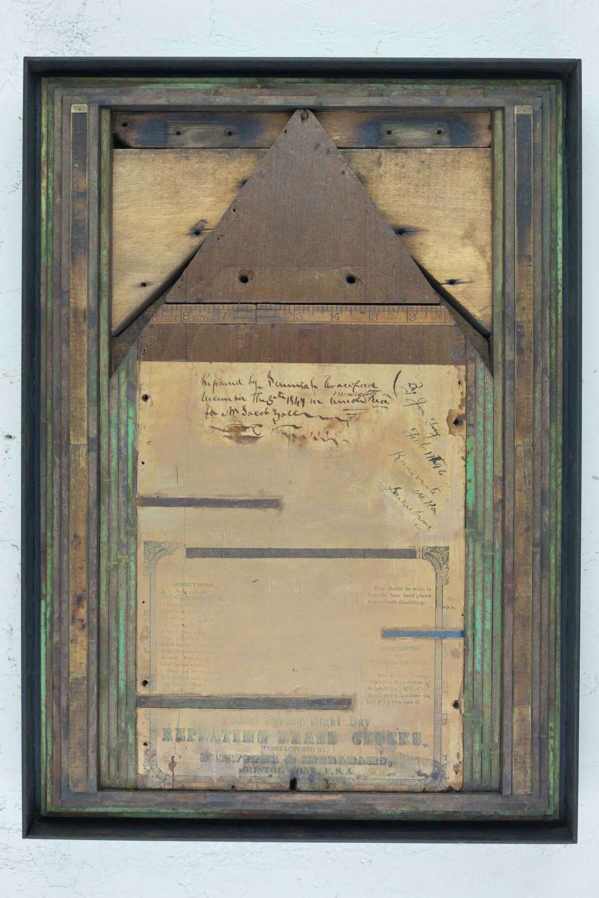 The Hands of Time: A Retrospective of artist Randall Reid runs through Nov. 6 at the KCAM,