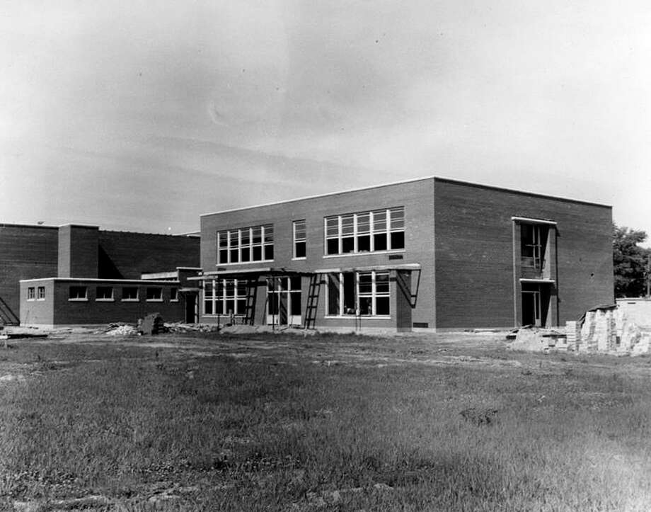 File photo Construction continues on the Sugnet School addition June 16, 1948.