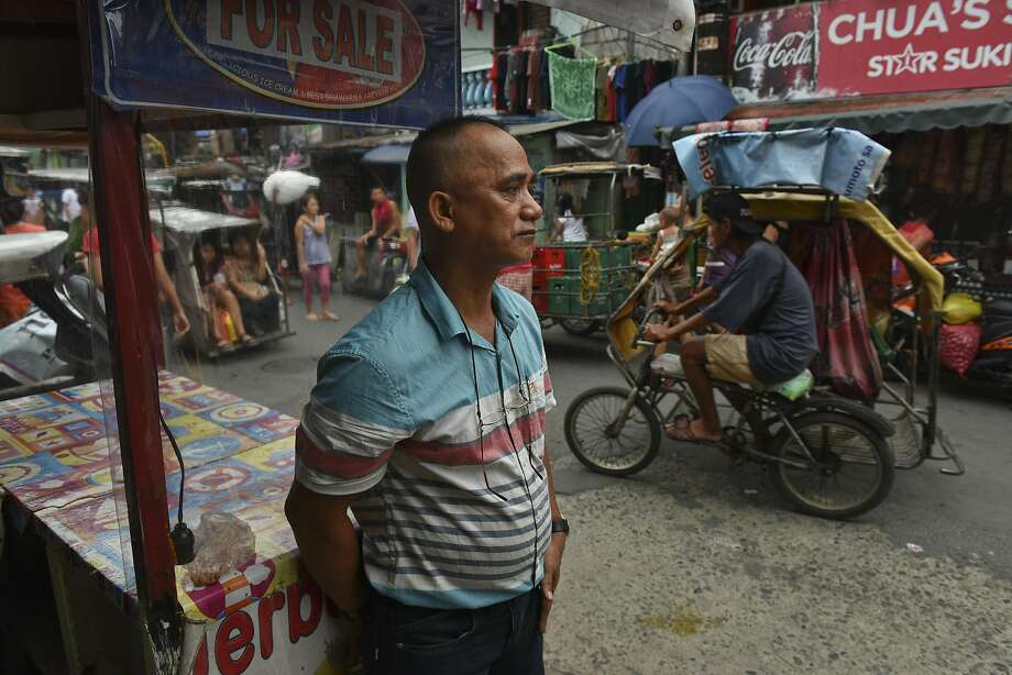 Virgilio Mabag, 54, thinks his meth addict brother could become a casualty of the President Rodrigo Duterte's antidrug campaign. Yet, he still supports him. Photo: JES AZNAR, NYT