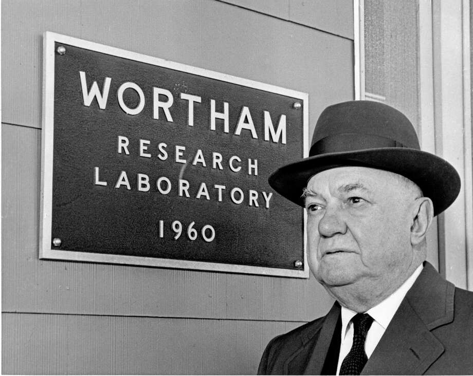 01/16/1962 - Gus S. Wortham, chairman of American General Insurance Group, is also a rancher and educational philanthropist. Photo: Jim Doersam, HC Staff / Houston Chronicle