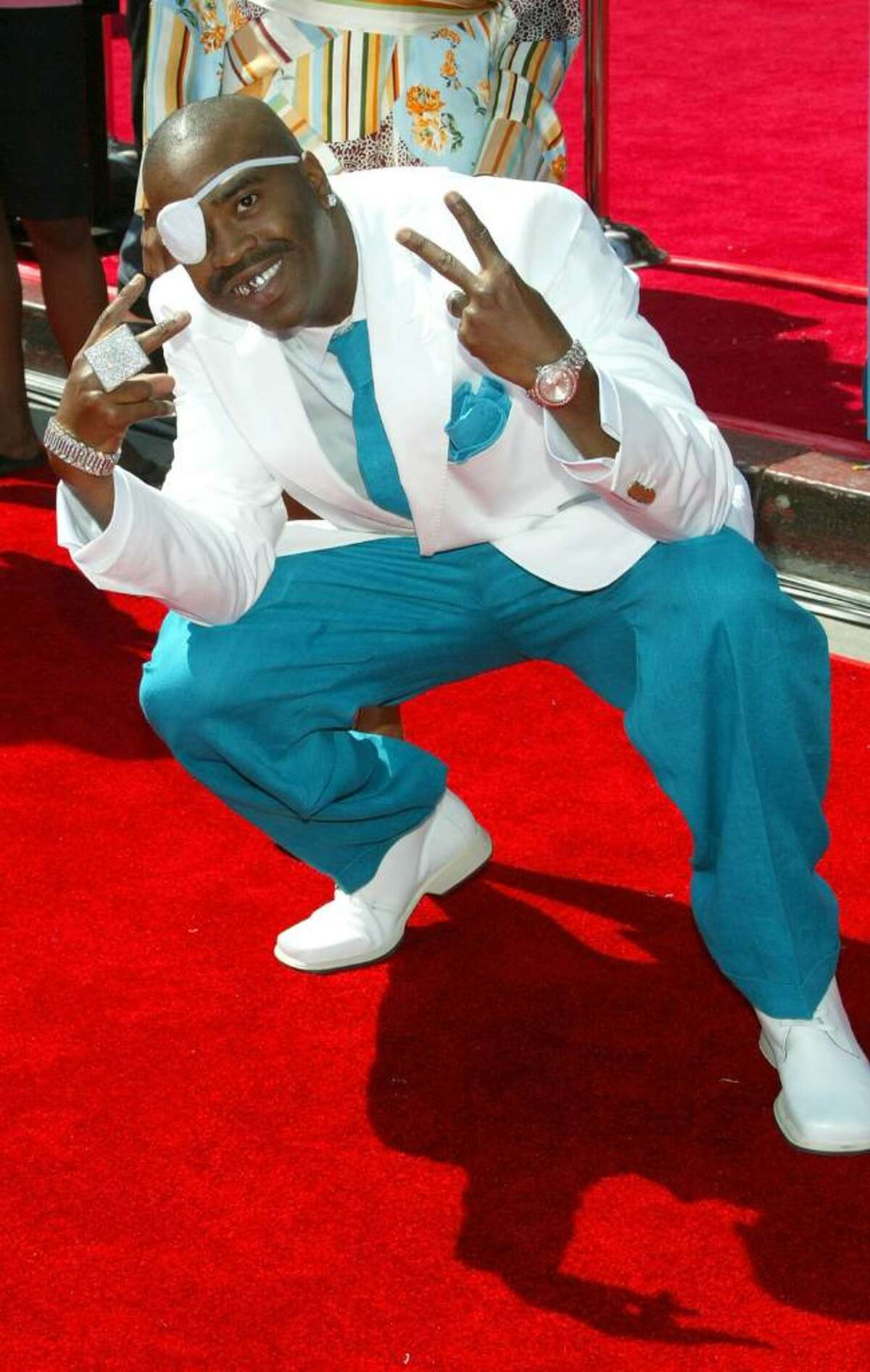 HOLLYWOOD, JUNE 28: arrives at the BET Awards 05 at the Kodak Theatre on June 28, 2005 in Hollywood, California. (Photo by Frederick M. Brown/Getty Images)