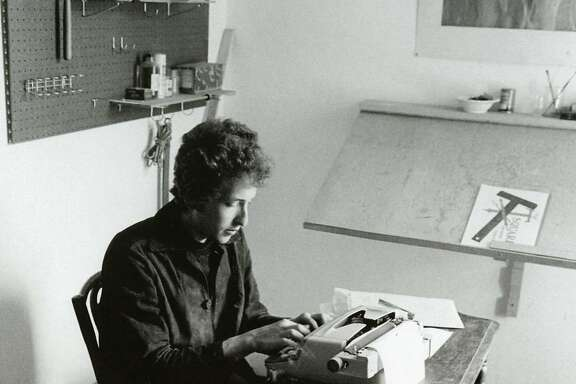 "Bob Dylan from ""Forever Young."""