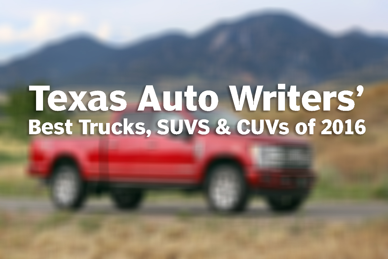 Texas Auto Writers Association names best trucks, SUVs and CUVs in Texas at Truck Rodeo