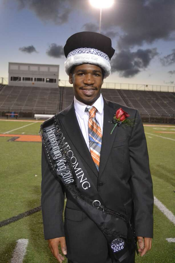 Texas City High School senior Terry Hardy was crowned homecoming king by the student body on Wednesday, Oct. 12, 2016. Photo: Texas City ISD