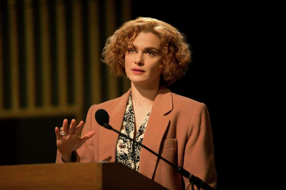 "In this image released by Bleecker Street, Rachel Weisz portrays writer and historian Deborah E. Lipstadt in a scene from ""Denial."" (Laurie Sparham/Bleecker Street via AP) Photo: Laurie Sparham, HONS / © 2016 Bleecker Street"