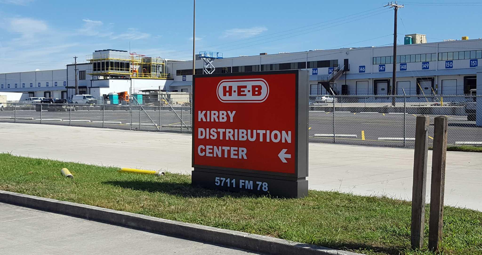 Kirby City Limits Expand For New H E B Plant San Antonio Express News