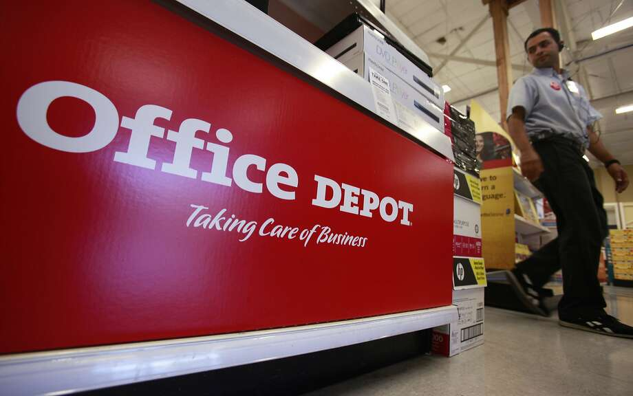 Office Depot is the latest of a number of retailers to announce that it will not open on Thanksgiving. Photo: Paul Sakuma, Associated Press