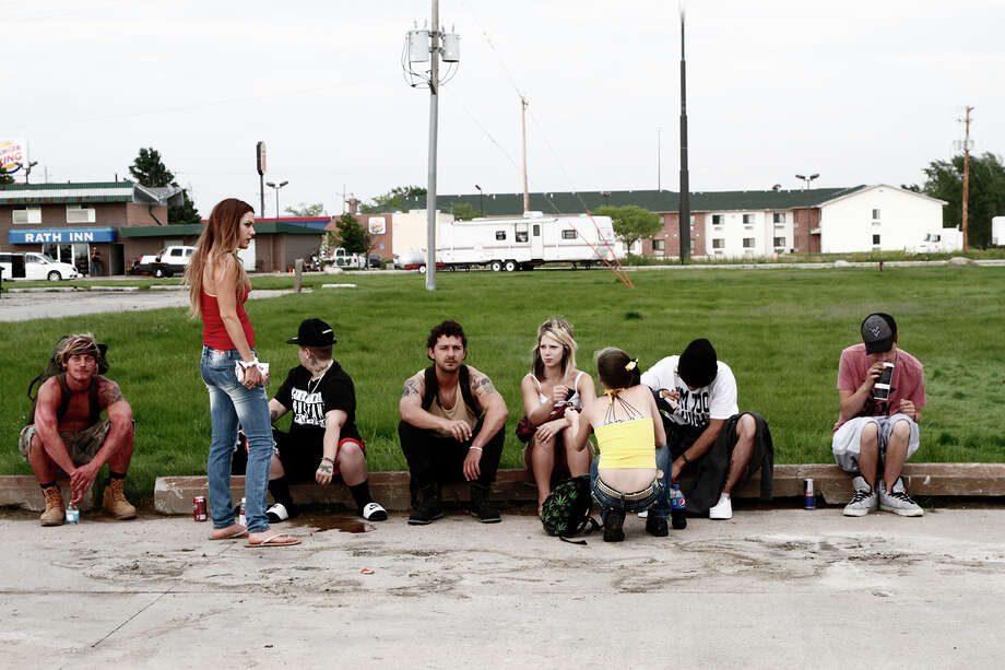 """Director Andrea Arnold cast mostly non-professionals actors in the roles of runaways in """"American Honey."""" Photo: Holly Horner, HONS / HOLLY HORNER"""