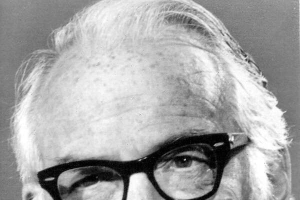 BARRY GOLDWATER - Senator Barry Goldwater of Arizona is shown in this undated file photo. Goldwater was nominated for president by the Republican National Convention in San Francisco on July 15, 1964.