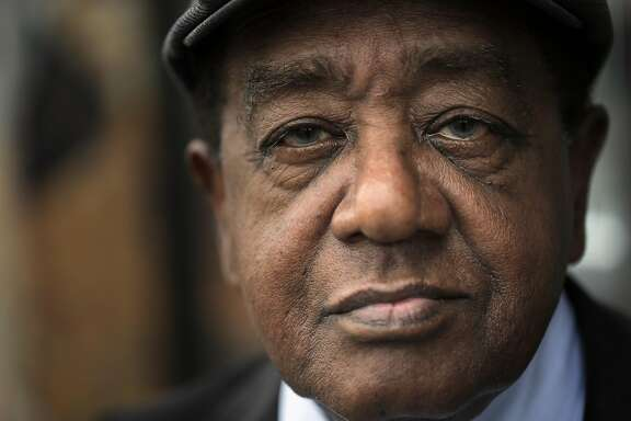 Bobby Seale, founding chairman of the Black Panthers at the Eastside Arts Alliance in Oakland, Calif., on Monday, October 3, 2016.