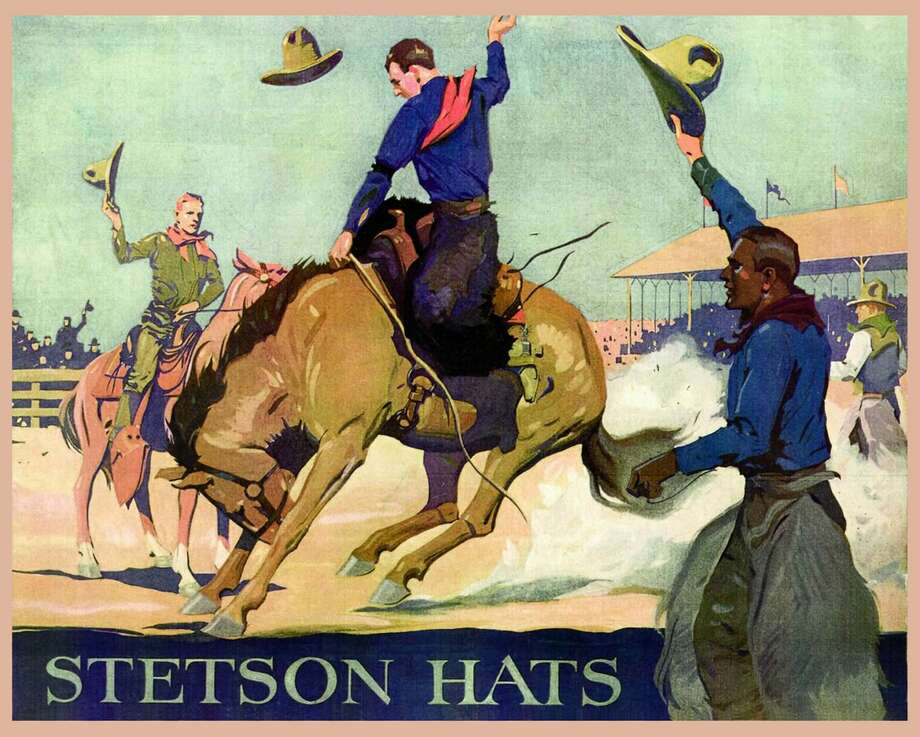 Stetson cowboy hats: Through the yearsStetson cowboy hats and Texas go together like peas and carrots. The countless Texans who own one probably don't know the origins of the brand can be traced back, not to the Lone Star State, but Philadelphia of all places. Photo: Universal History Archive/UIG Via Getty Images