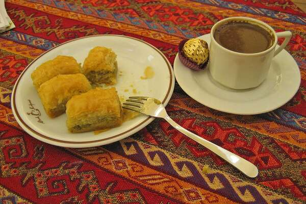 Baklava is the traditional queen of desserts in Turkey.