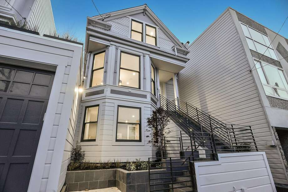 22 Harper St. in Noe Valley is an updated, six bedroom Victorian available for $3.995 million. Photo: Open Homes Photography