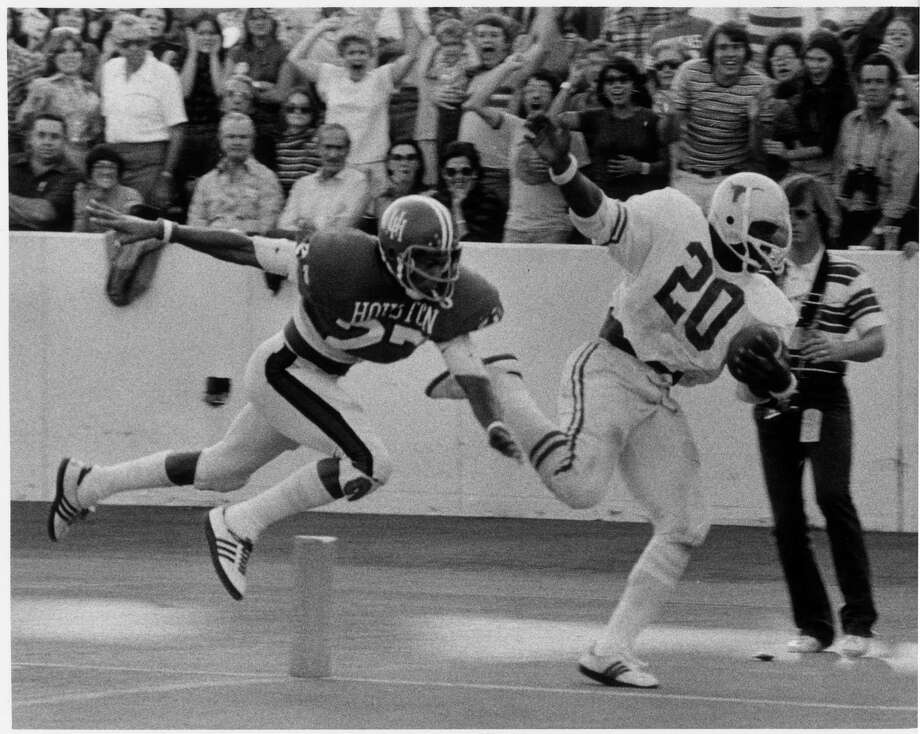 PHOTOS: College football players who shaped the major programs in the stateEarl Campbell will always be one of the iconic players at the University of Texas. Each major college football program in the state have players of similar stature.Browse through the photos to see the best players at the major college football programs in the state. Photo: HC Staff / Houston Chronicle