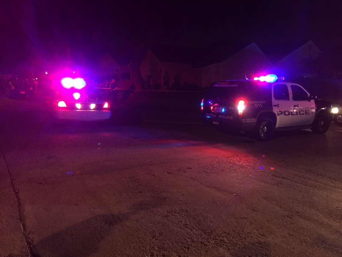 There was an officer-involved shooting in the 11600 block of Riderwood on Thursday evening.