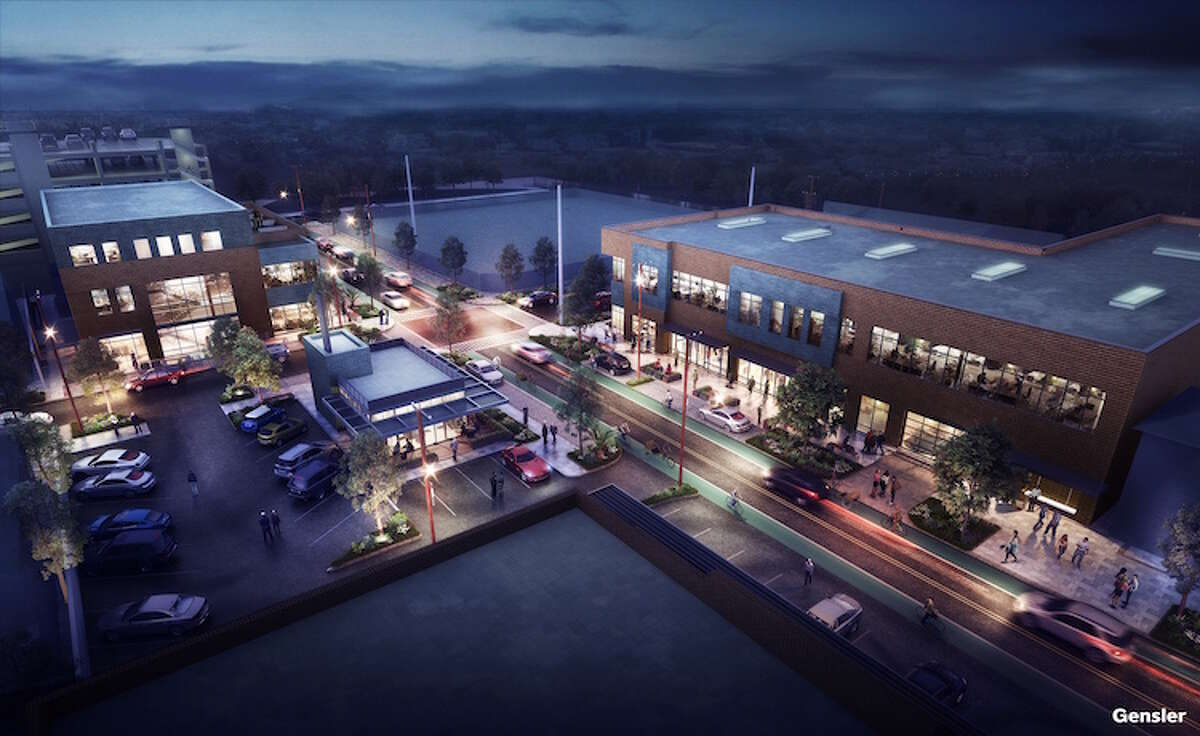Rendering of the Gensler-designed Fairview District.
