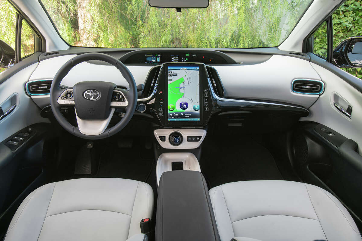 The Prime Premium and Advanced have the central 11.6-inch HD display, but even the base model is equipped with heated front seats, pushbutton start, and dual color driver information displays.