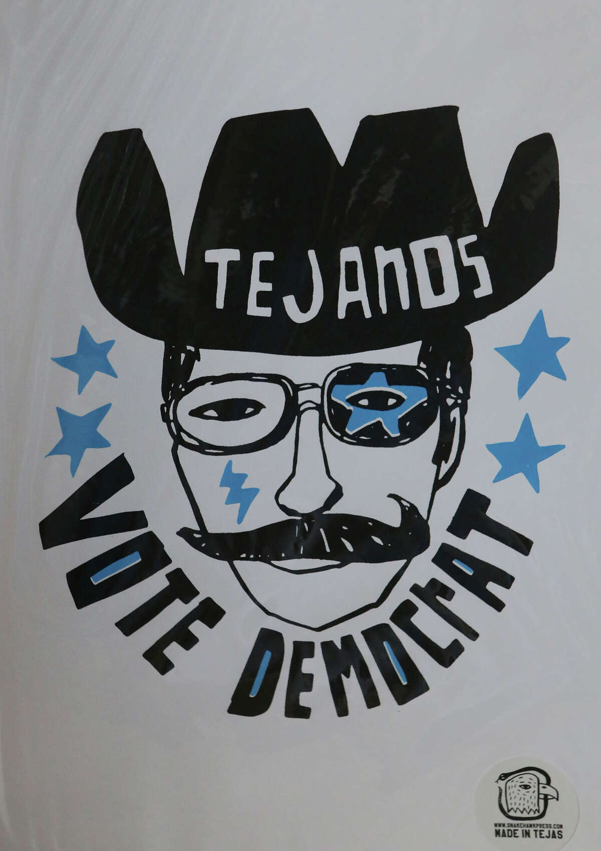 A a mustachioed Tex-Mex cowboy is a recent subject.