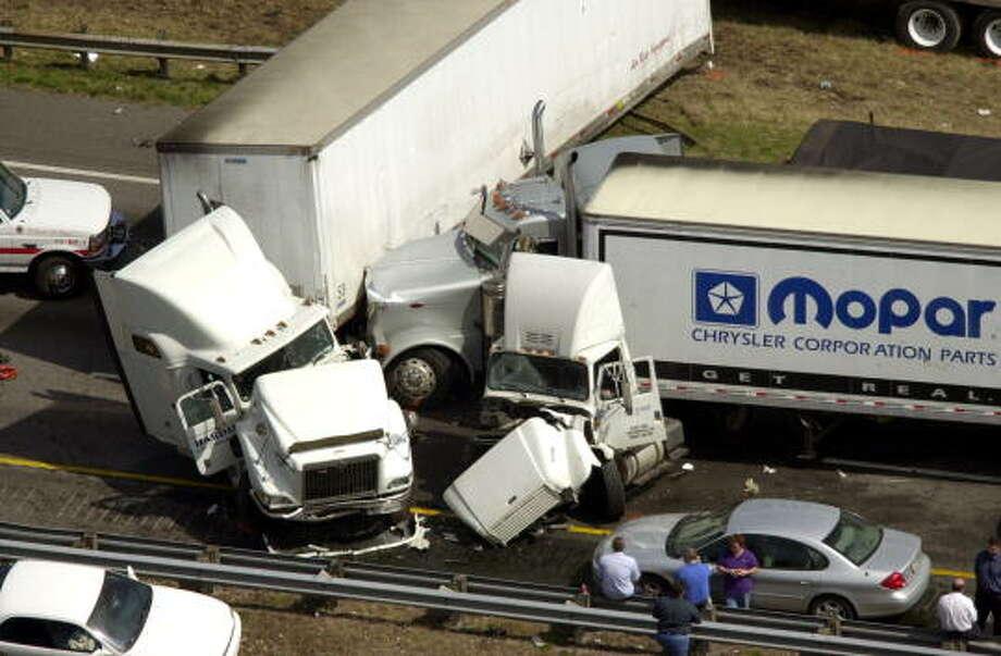 Interstate 45 Ranked As Second Deadliest Highway In U S Houston