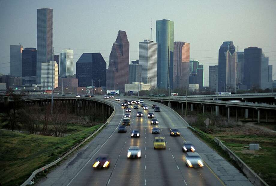 Houston skyline. Photo: Jeff Greenberg/UIG Via Getty Images