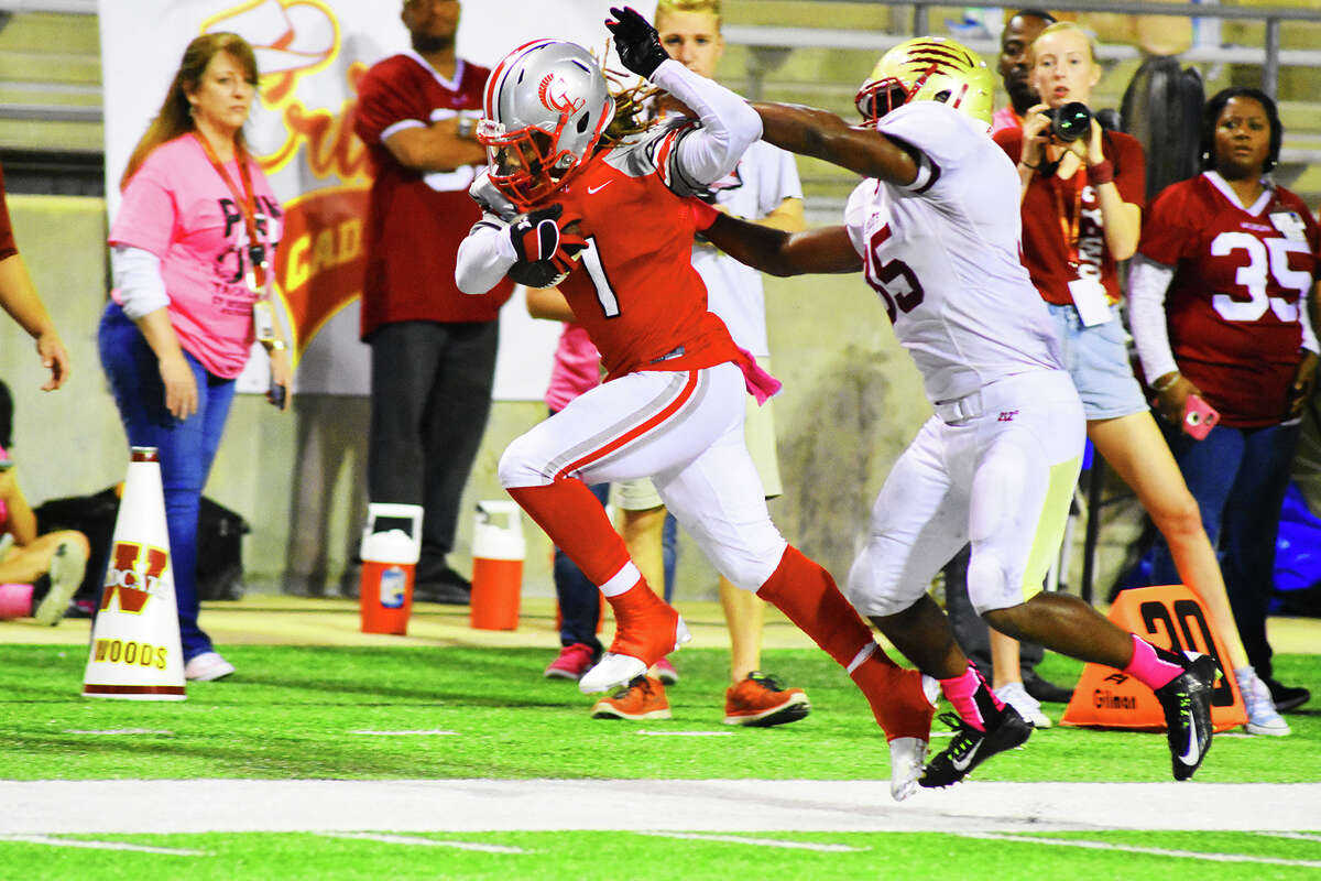 Despite the loss, Cy Lakes' Colin King was the most impressive athlete on the field Thursday against Cy Woods. King finished the contest with a game-high 209 all-purpose yards and two touchdowns, one receiving and one rushing.