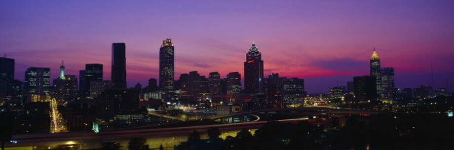Click through the photo gallery to see which cities attracted the most millennials in 2016.No. 10: Atlanta, Ga. Photo: Visions Of America/UIG Via Getty Images