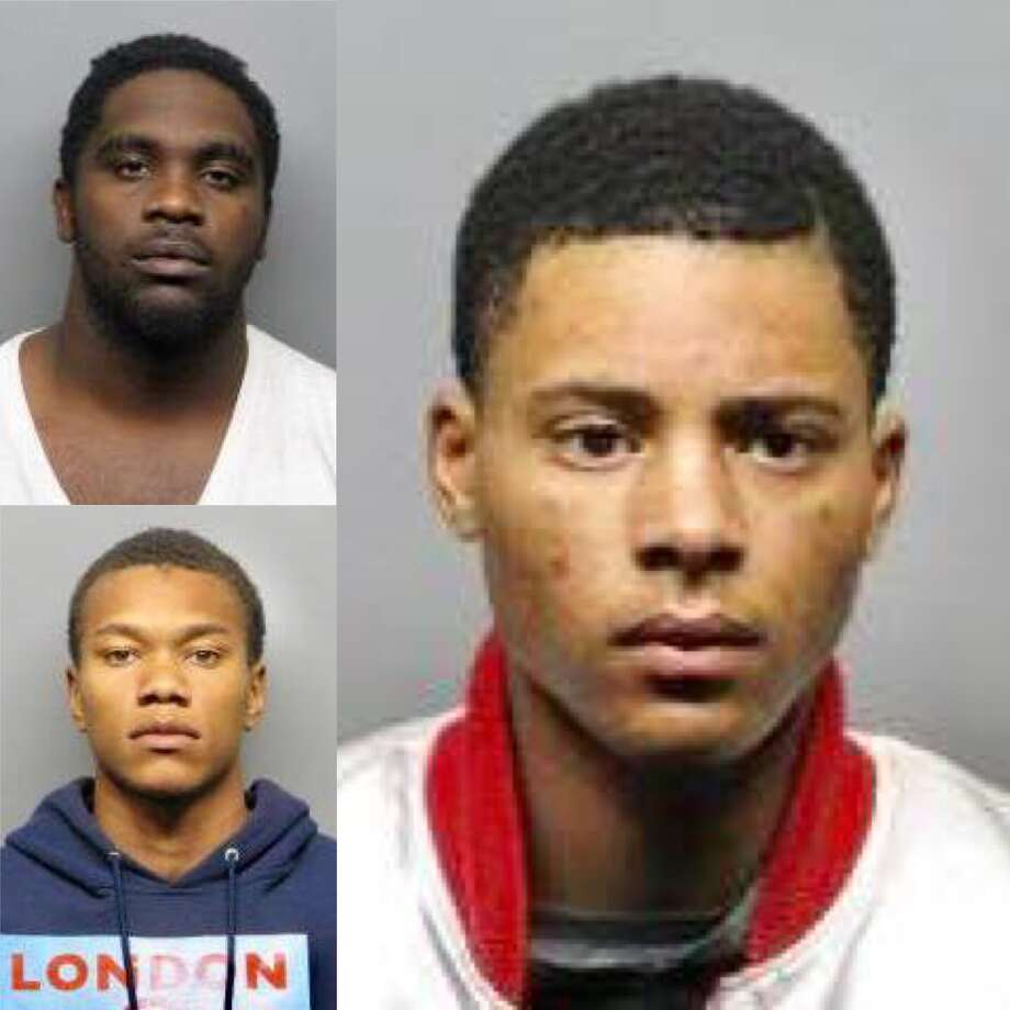 Anthony Tolliver, 22, (top left) Karmani Ely, 19, (bottom left) and Richard Taylor, 19, are charged with murder and robbery in the slaying of Eric Brown, 21, in Richmond's La Moine Valley View Park. Photo: Richmond Police Department / /