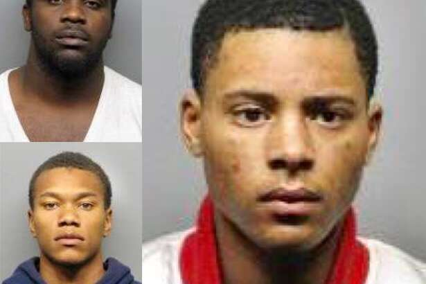 Anthony Tolliver, 22, (top left) Karmani Ely, 19, (bottom left) and Richard Taylor, 19, are charged with murder and robbery in the slaying of Eric Brown, 21, in Richmond's La Moine Valley View Park.