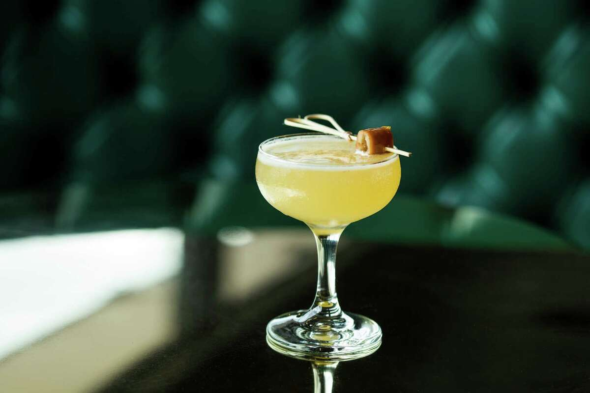 Devil May Care (Beefeater Dry Gin, lemon, Benedictine, cardamom and tamarind) is one of the seasonal cocktails now being offered at Anvil Bar and Refuge.
