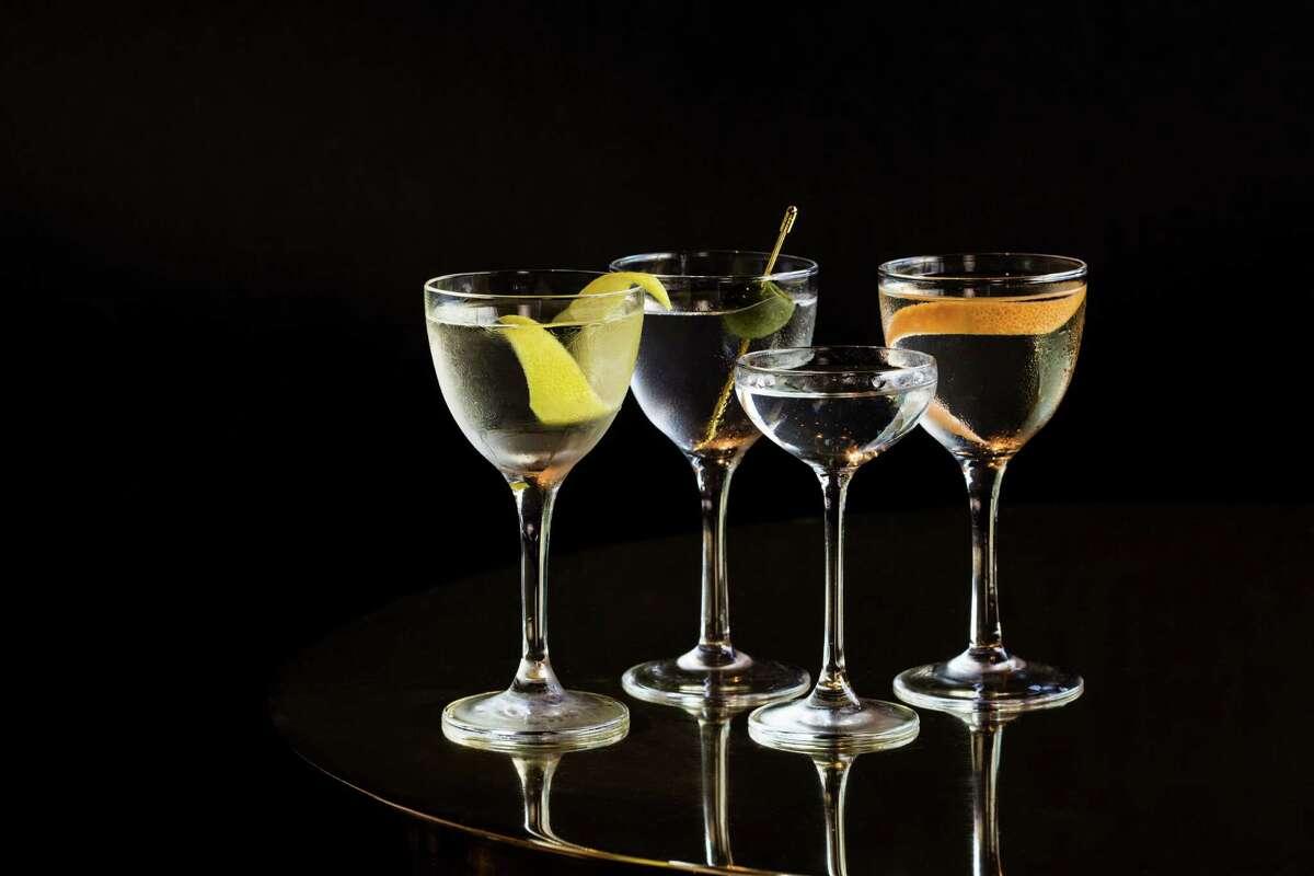 Martini variations include the Classic Martini, Mr. Hoshi's Martini, Duke's Martini and the Vodka Martini, available at Anvil Bar and Refuge.