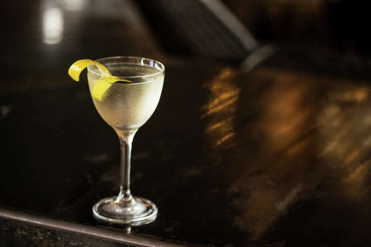 Classic Martini (dry gin, vermouth, orange bitters) at Anvil Bar and Refuge.