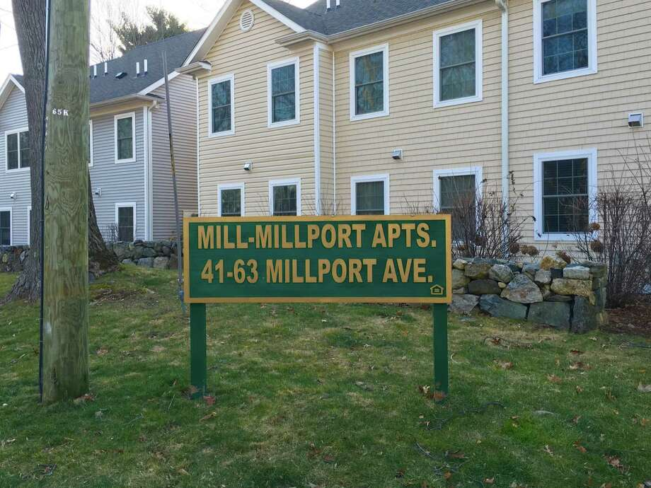 Millport Apartments, in New Canaan, Conn. Photo: Justin Papp / Hearst Connecticut Media / New Canaan News