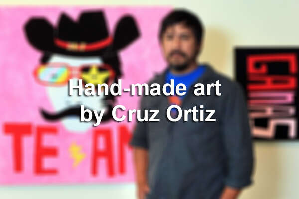 "Popular San Antonio artist Cruz Ortiz put his local touch on the ""Go Spurs Go"" large pizza box that fans will have a hard time tossing out after dinner."