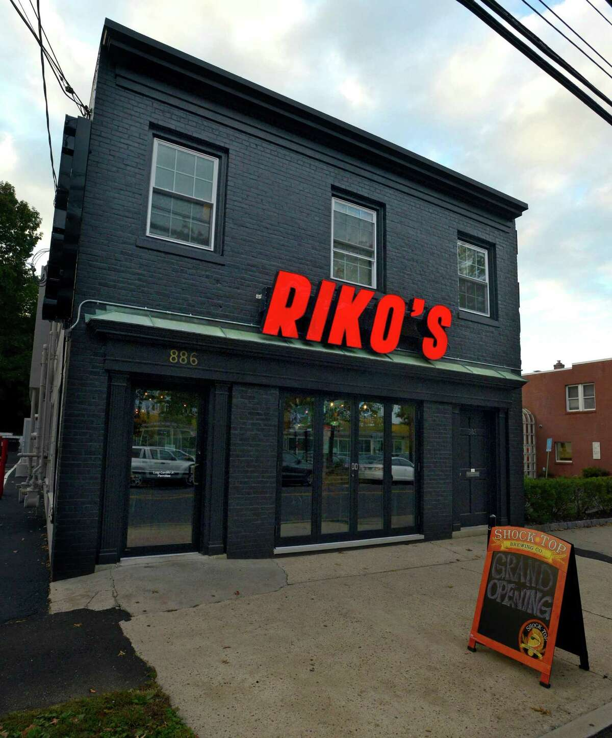 Riko's Pizza on Hope Street in Stamford on Oct. 13, 2016.