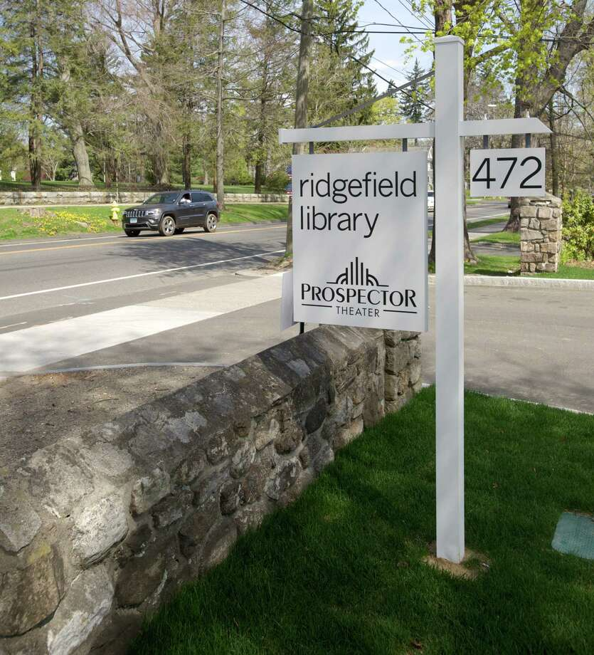 File photo. The Ridgefield Library Wednesday, May 7, 2014. Photo: H John Voorhees III / H John Voorhees III / The News-Times Freelance