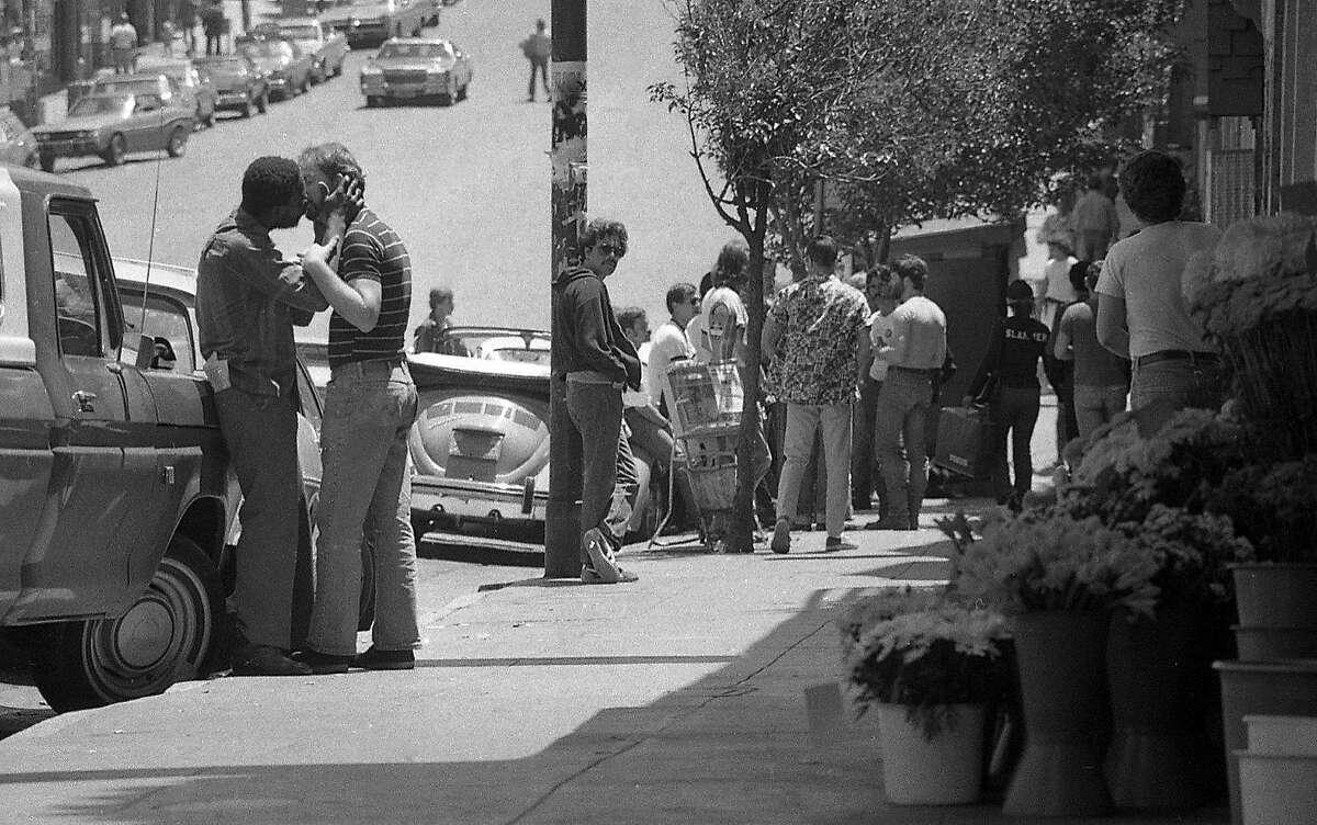 Castro District and Gay Community Castro Street Photos shot 06/29/1977