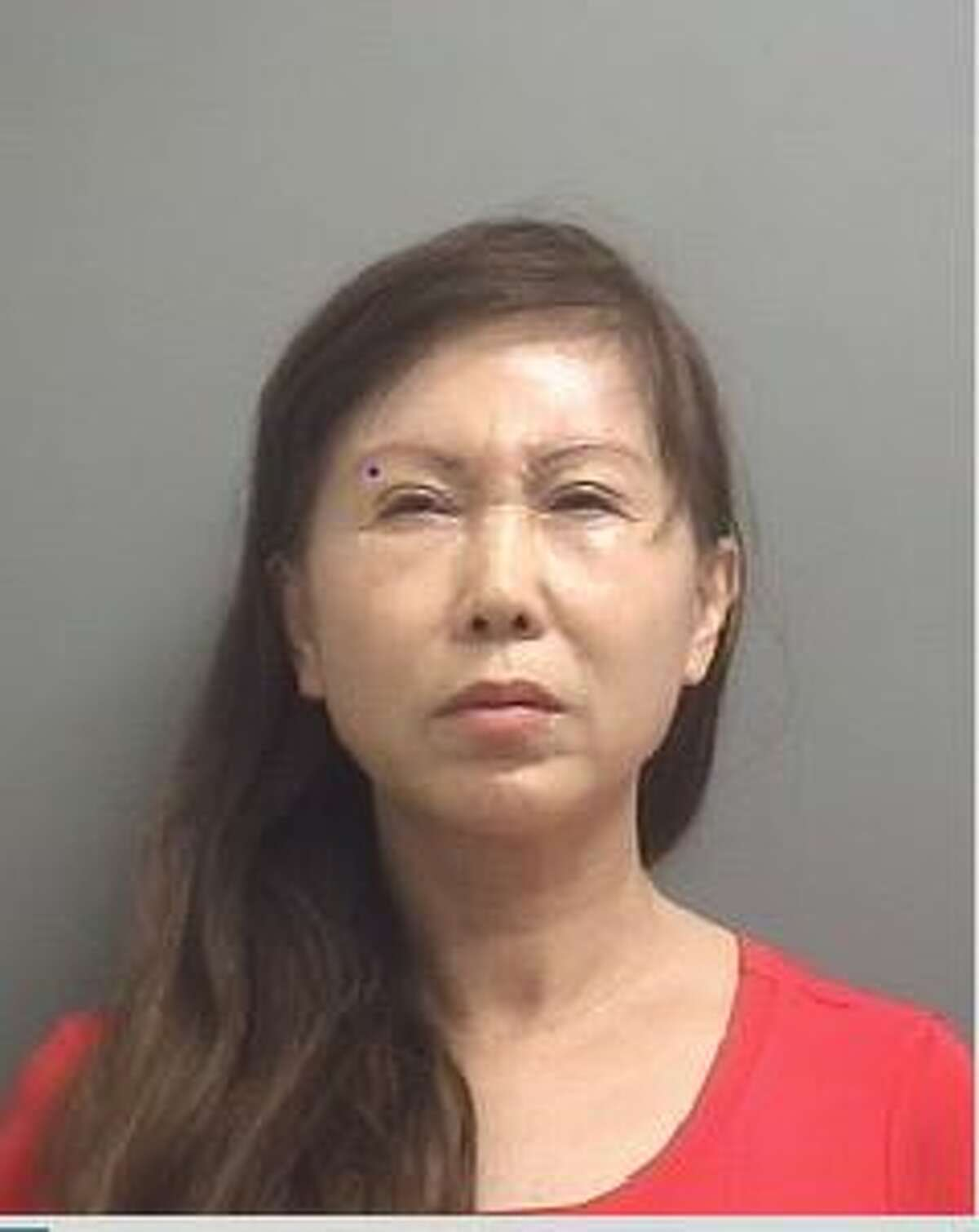 Jianping Hao, 59, of Pearland, was arrested and charged with prostitution Oct. 12 during an undercover investigation of La Porte's Plant Spa by La Porte Police. Hao allegedly worked at the spa. (La Porte Police)