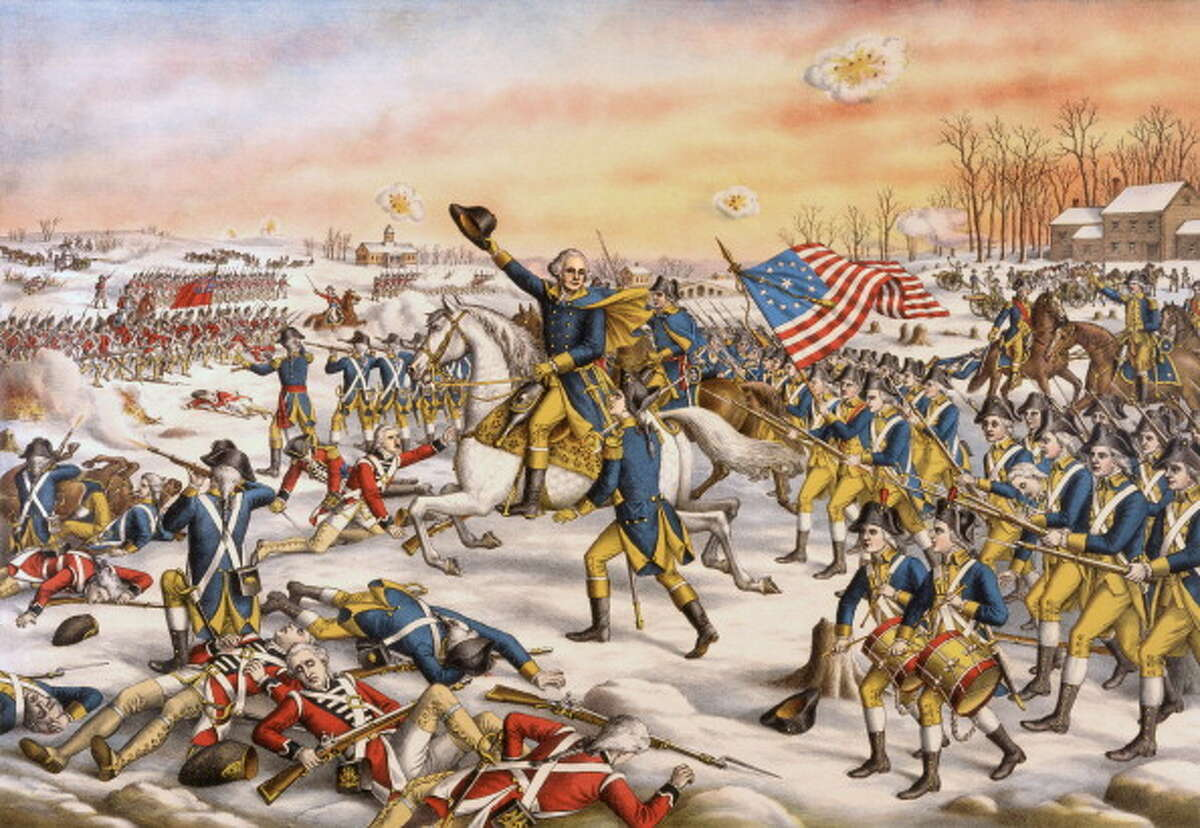One major factor that encouraged colonists in North America to declare independence from Great Britain was the... A) imposition of taxes on the colonists without their consent B) use of the British fleet against the French navy C) failure of the British government to protect the slave trade D) establishment of an official state religion in the colonies Source: Texas Education Agency