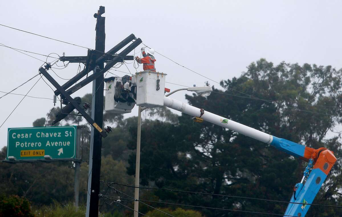 PG&E is cutting 390 employees as it tightens its belt.