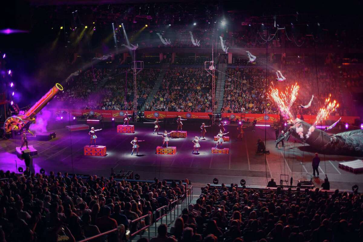 Ringling Bros. and Barnum & Bailey's Circus Xtreme stops at the Webster Bank Arena in Bridgeport for six performances, Thursday through Sunday. Find out more.