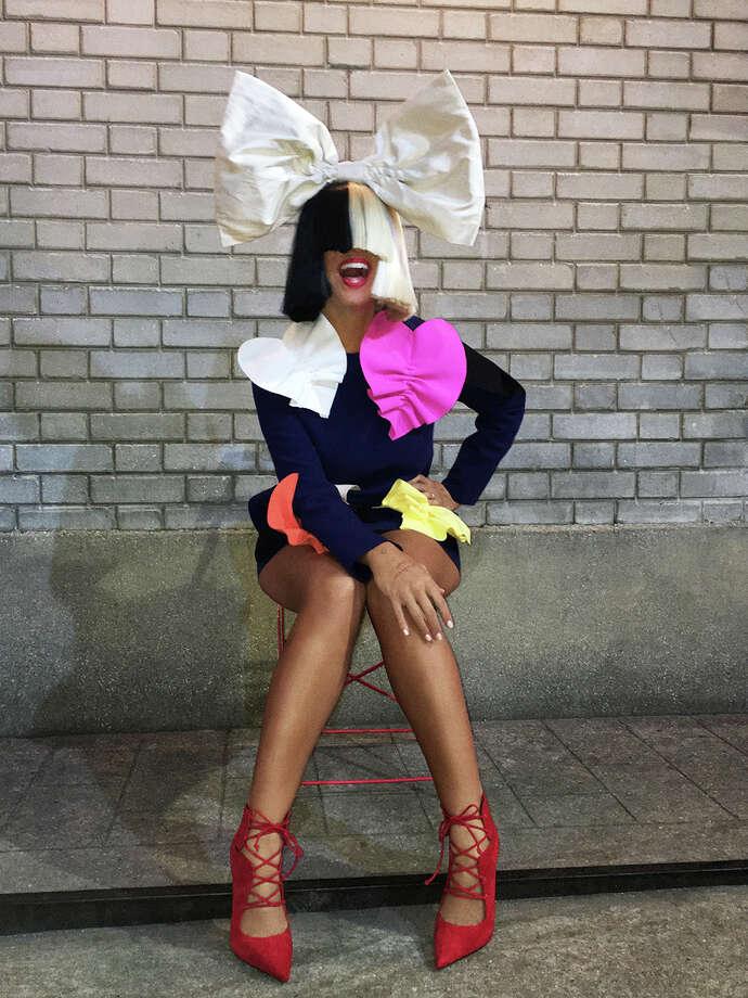 Sia performs at Mohegan Sun Arena on Wednesday, Oct. 26. Photo: Mohegan Sun / Contributed Photo