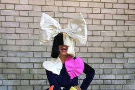 Sia performs at Mohegan Sun Arena on Wednesday, Oct. 26.