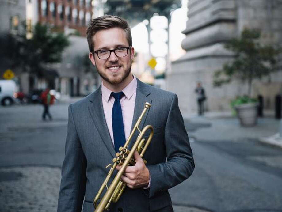 Noted professional trumpeter Brandon Ridenour will perform at the Pequot Library theater on Oct. 22, at 2 p.m. during a free Young Persons' Concert. Photo: Jiyang Chen / Contributed Photo
