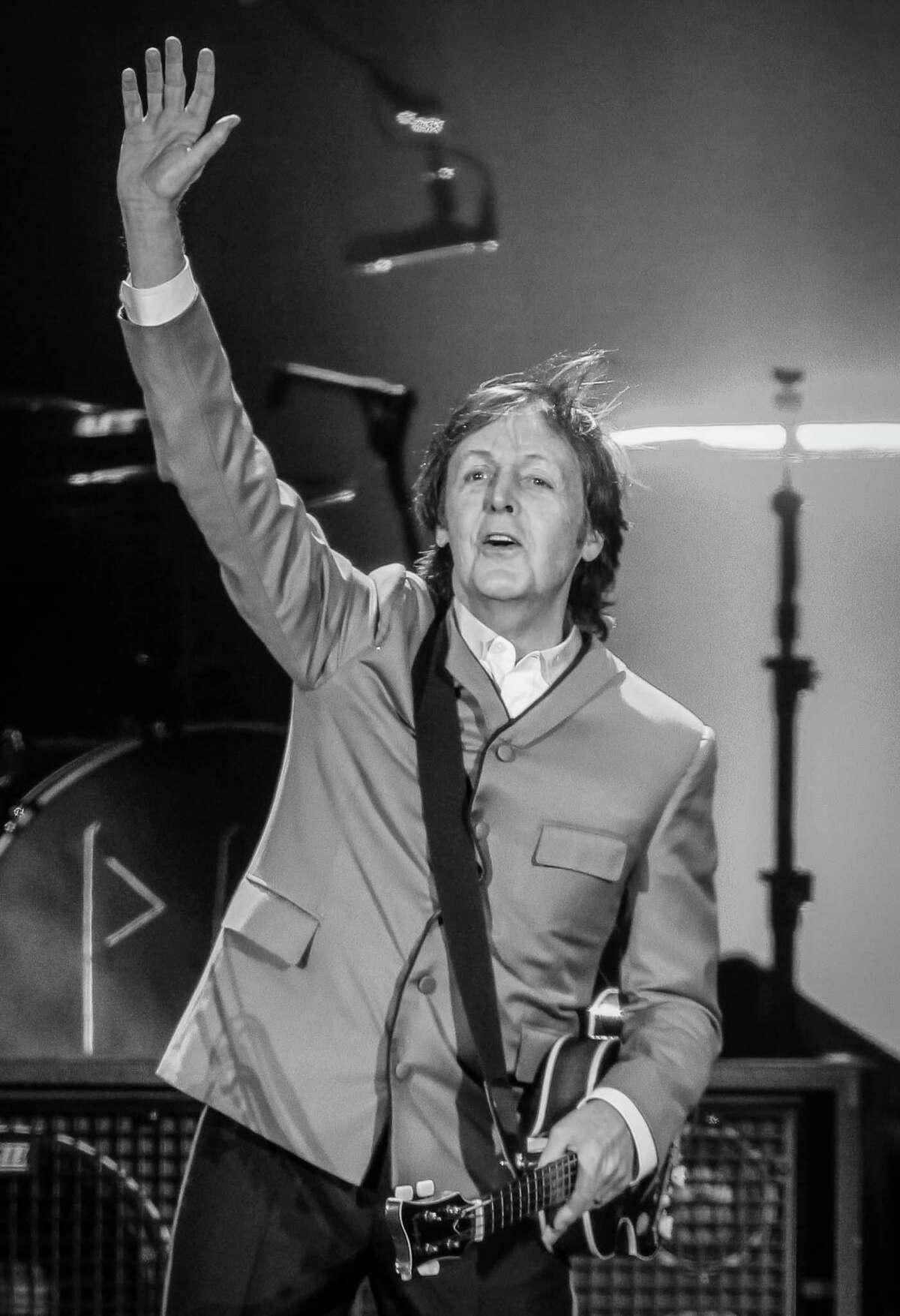 Paul McCartney at Minute Maid Park.