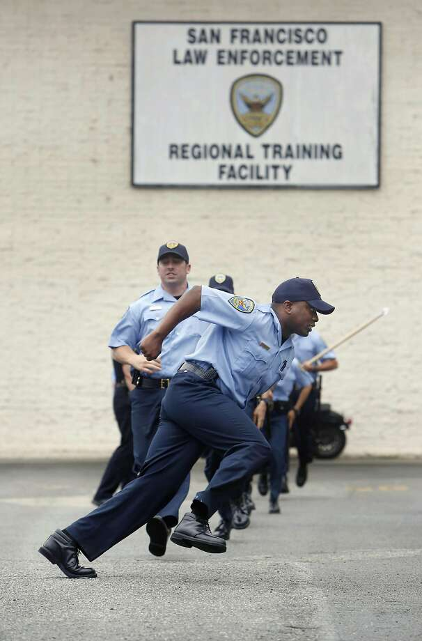 Diversity is a point of pride for many San Francisco police recruits, a review by the U.S. Department of Justice finds. Photo: Lea Suzuki, The Chronicle