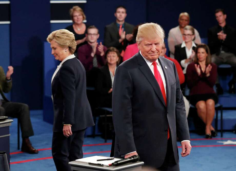 Republican presidential nominee Donald Trump's performance in the second debate against Democrat Hillary Clinton only ensured that hard-core conservatives stay with him until the end. Photo: Rick T. Wilking / Associated Press / Copyright 2016 The Associated Press. All rights reserved.