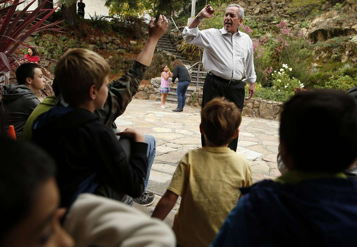 Dr. Bob Field leads Quest Diagnostics Camp after school program at Temescal Regional Recreation Area in Oakland, Calif., on Monday, October 3, 2016.