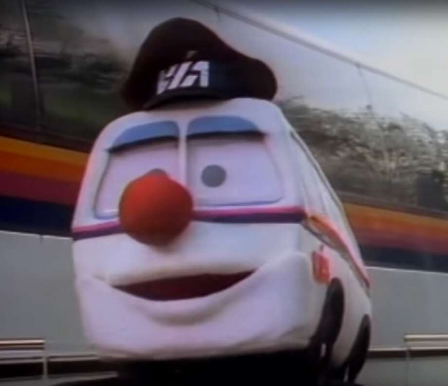 In the 1980s VIA's bus ads featured the Buppets.